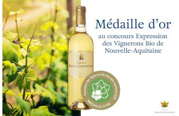 Une Médaille D'Or Pour Notre Vin Château Bastor Lamontagne 2018 !